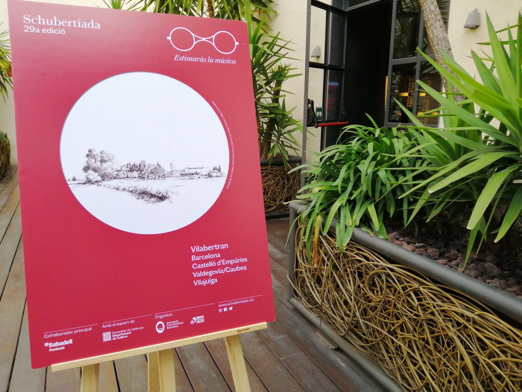 Presentació del festival Schubertíada