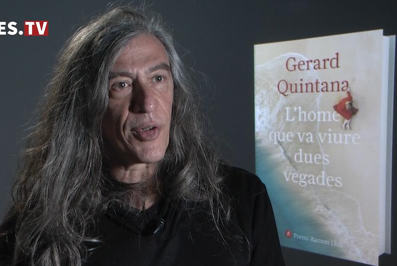 """Gerard Quintana presenta el llibre """"L'home que va viure dues vegades"""""""