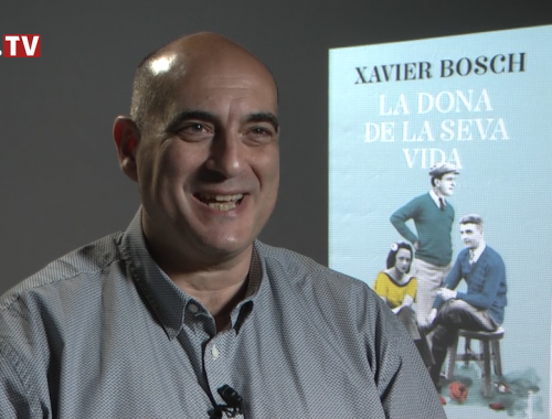 Xavier Bosch, autor de la dona de la seva vida