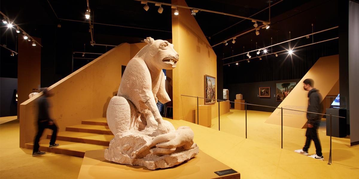 Exposició del Museu d'Arqueologia de Catalunya MAC