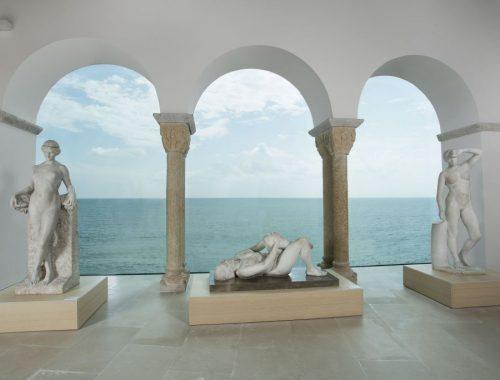Museu de Mar i Cel, representacions esculturals LGTBIQ+