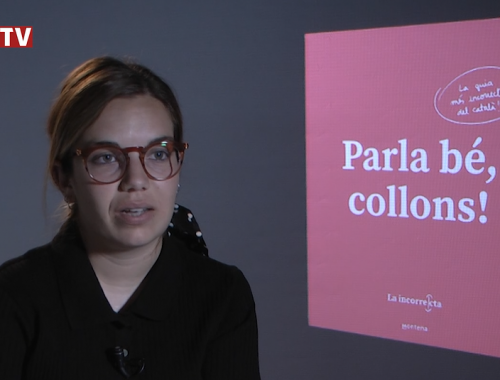 Valentina Planas de La Incorrecta durant l'entrevista
