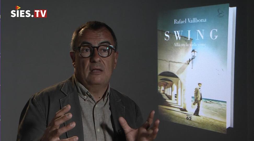 Rafael Vallbona presenta la nova novel·la Swing